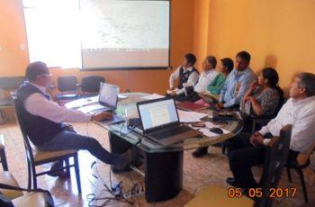 Reunión de Coordinación para la Programación de Actividades del Comité de Monitoreo Ambiental Participativo en el Área de Influencia de Operaciones Mineras U.P. Tucari – Aruntani SAC